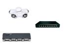 Netværksswitche og USB hubs
