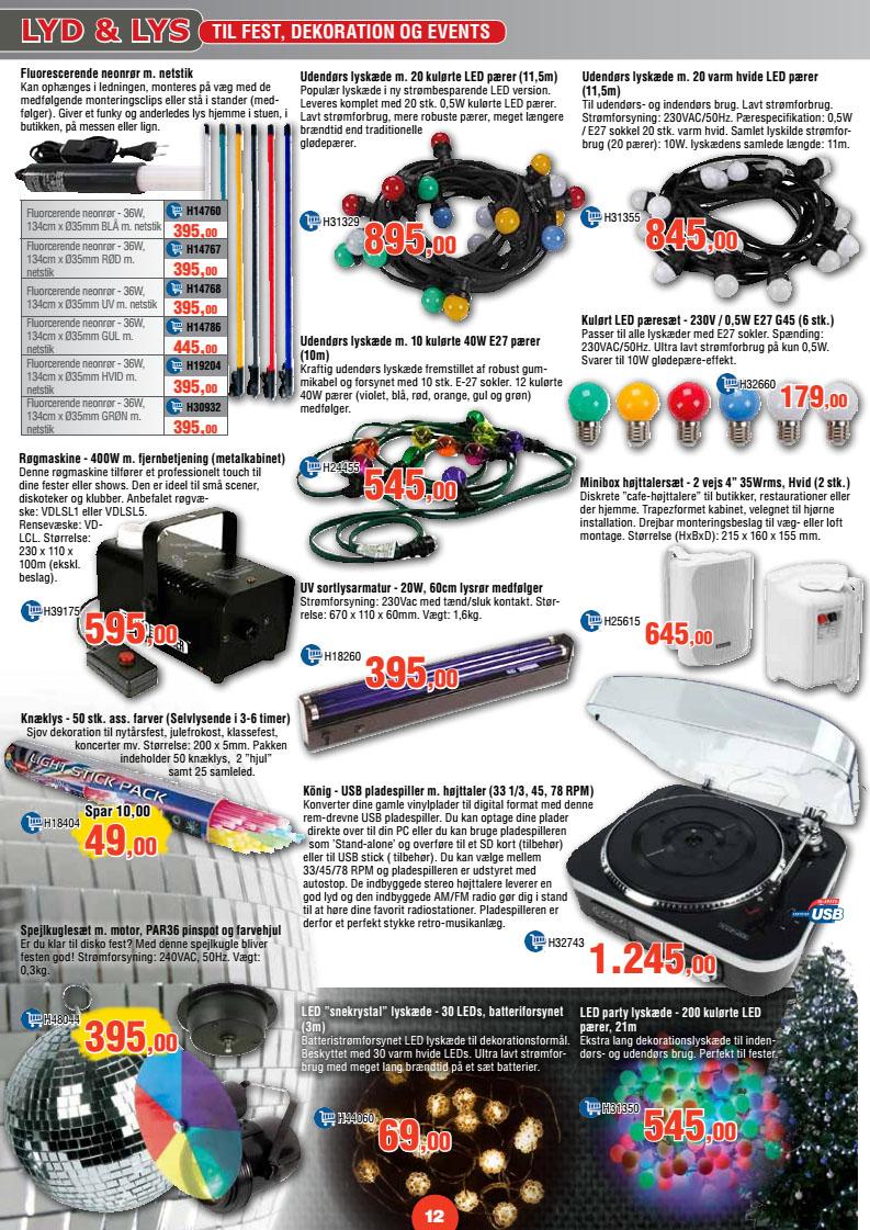 351e68061773 LED party lyskæde 200 kulørte pærer 21m